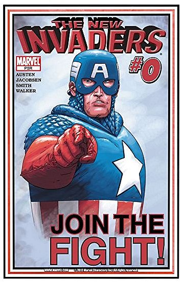 New Invaders (2004) #0-9 Marvel (2004-05)