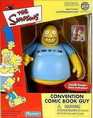 The Simpsons: Convention Comic Book Guy Action Figure