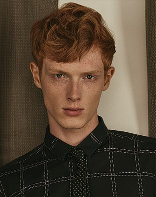 Redhead Male Models List