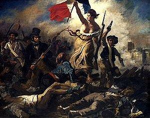 Eugène Delacroix: Liberty Leading the People (1830)