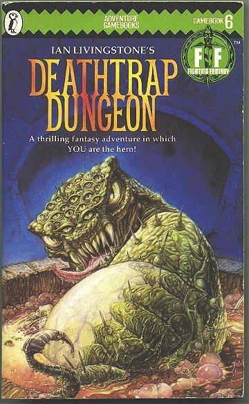 Deathtrap Dungeon (Puffin Adventure Gamebooks)