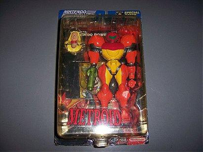 Metroid Samus Action Figure