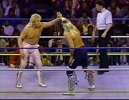 Bobby Eaton & Stan Lane vs. Ricky Morton & Robert Gibson (1990/02/25)