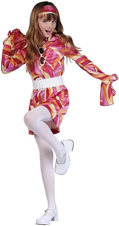 RG Costumes Girls Go Disco Costume, Large