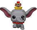 Dumbo Pop! Vinyl: Dumbo and Timothy Mouse Disney Treasures Exclusive