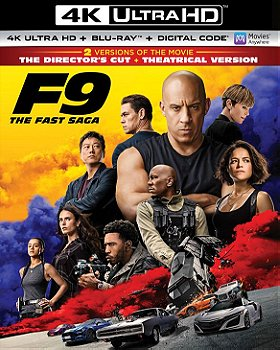 F9: The Fast Saga (4K Ultra HD + Blu-ray + Digital Code)