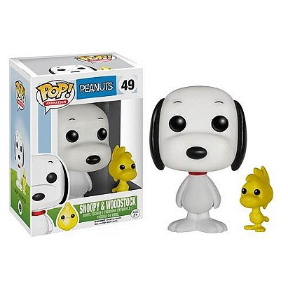 Peanuts Pop! Vinyl: Snoopy & Woodstock