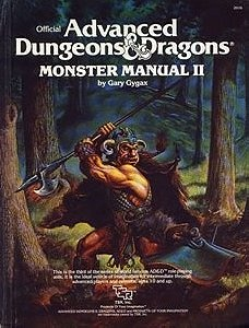 Advanced Dungeons and Dragons: Monster Manual II (#2016)