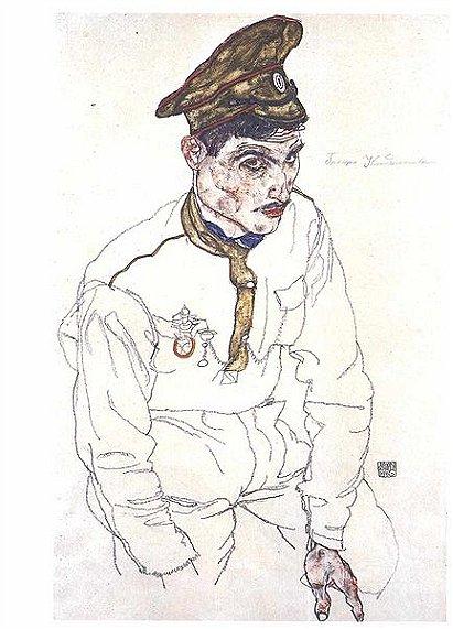 Russischer Kriegsgefangener- Grigori Kladjischuili - 1916