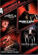4 Film Favorites: Nightmare on Elm Street 5-8 (Freddy vs Jason, Freddy's Dead: The Final Nightmare,