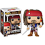 Pirates of the Caribbean Pop! Vinyl: Captain Jack Sparrow Version 2