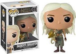 Game of Thrones Pop! Vinyl: Daenerys Targaryen Barnes and Nobel Exclusive White and Gold Dragon