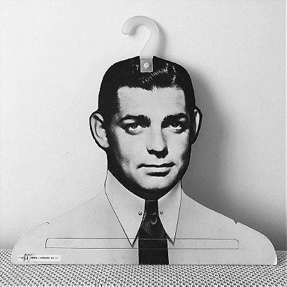 1960s Henderson Hoggard Clark Gable Face Hanger