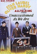 Unaccustomed As We Are                                  (1929)
