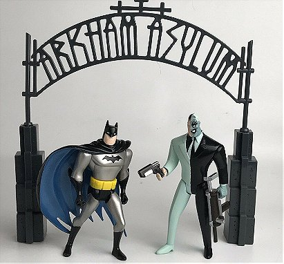 Arkham Asylum Escape - Batman vs. Two-Face Battle Pack
