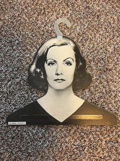 1967 Henderson Hoggard Greta Garbo Face Hanger