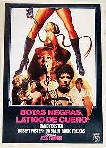 Botas Negras Látigo De Cuero 1983