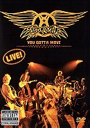 AEROSMITH YOU GOTTA MOVE - LIVE (DVD+CD)