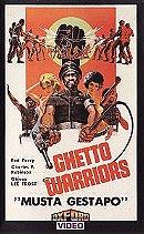 Ghetto Warriors [VHS]