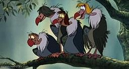 The Jungle Book Vultures