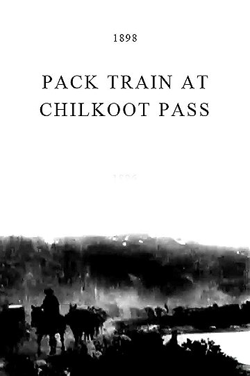 Pack Train at Chilkoot Pass
