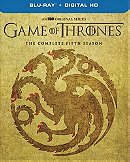 Game Of Thrones: The Complete Fifth Season with The Visual Effects Exclusive Bonus Disc (Blu-ray + D