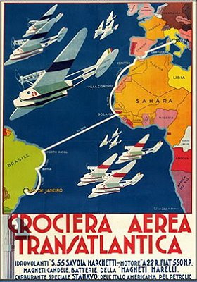 Crociera Aerea Italia-Brasile