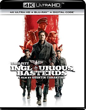 Inglourious Basterds (4K Ultra HD + Blu-ray + Digital Code)