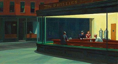 Edward Hopper: Nighthawks (1942)