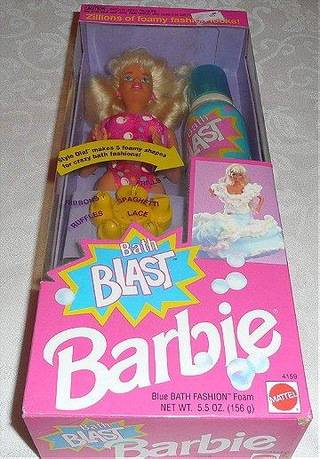 Bath Blast Barbie