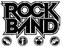 Rock Band Drum, Guitar Skin Combo, Fits Xbox 360 / PS3/2 Rockband - Pink Hearts
