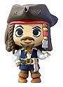Pirates of the Caribbean Mystery Minis: Captain Jack Sparrow Disney Treasures Exclusive