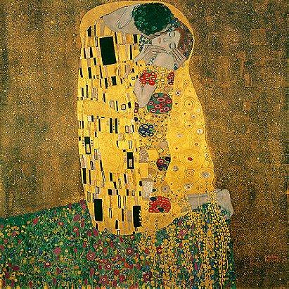 Gustav Klimt: The Kiss (1908)