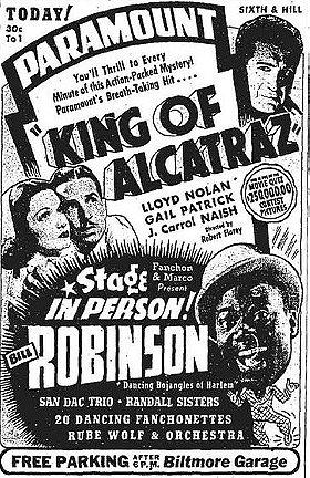 King of Alcatraz (King of the Alcatraz) (1938)
